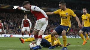 Arsenal Atletico Madrid Europa League