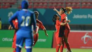 Zahra Muzdalifah - Timnas Sepakbola Wanita Indonesia Asian Games 2018