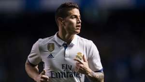 James Rodriguez Real Madrid 26042017