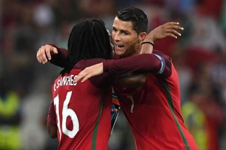 Renato Sanches, Cristiano Ronaldo Portugal