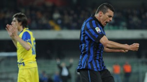 Lucio Inter Milan Mailand 08032012