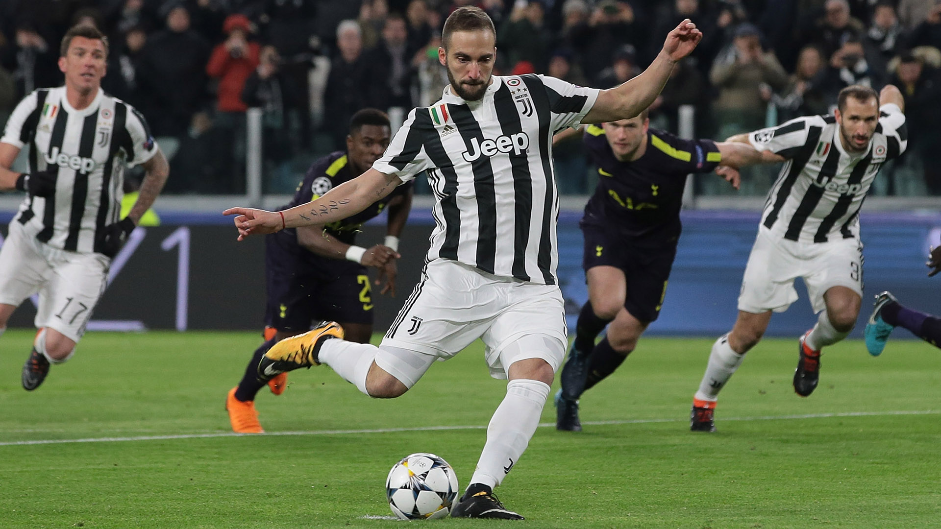 juventus vs tottenham - HD 1920×1080