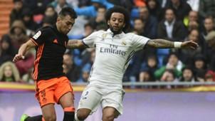 Marcelo Munir Real Madrid Valencia LaLiga 29042017