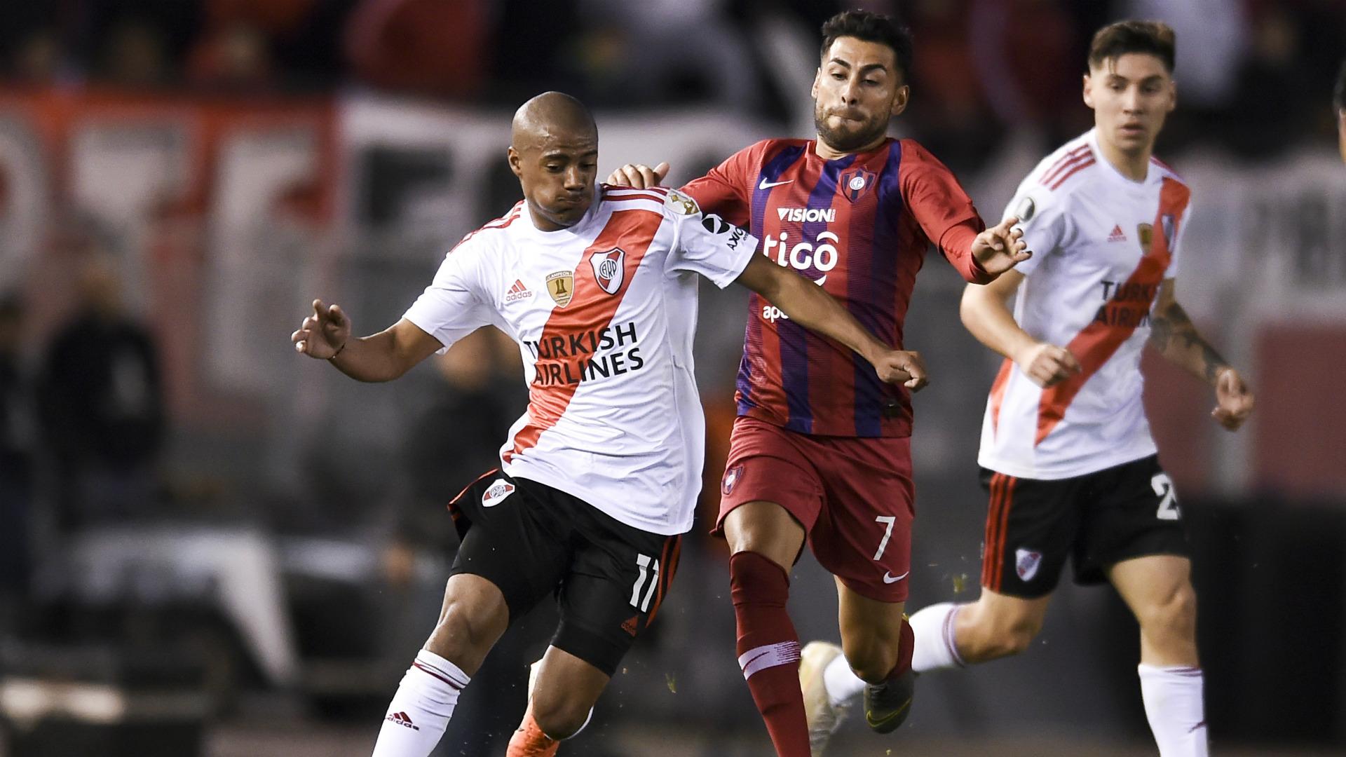 De La Cruz River Plate Cerro Porteño Copa Libertadores 22082019