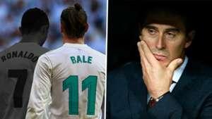 Cristiano Ronaldo Gareth Bale Julen Lopetegui Real Madrid