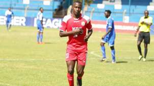 Elvis Nandwa of Ulinzi Stars v Gor Mahia.