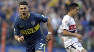 Cristian Pavon Boca Juniors Chacarita Superliga Argentina 01102017