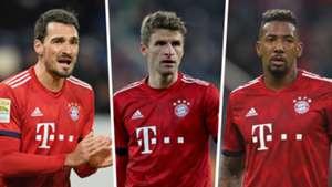 Mats Hummels, Thomas Muller, Jerome Boateng, Bayern Munich