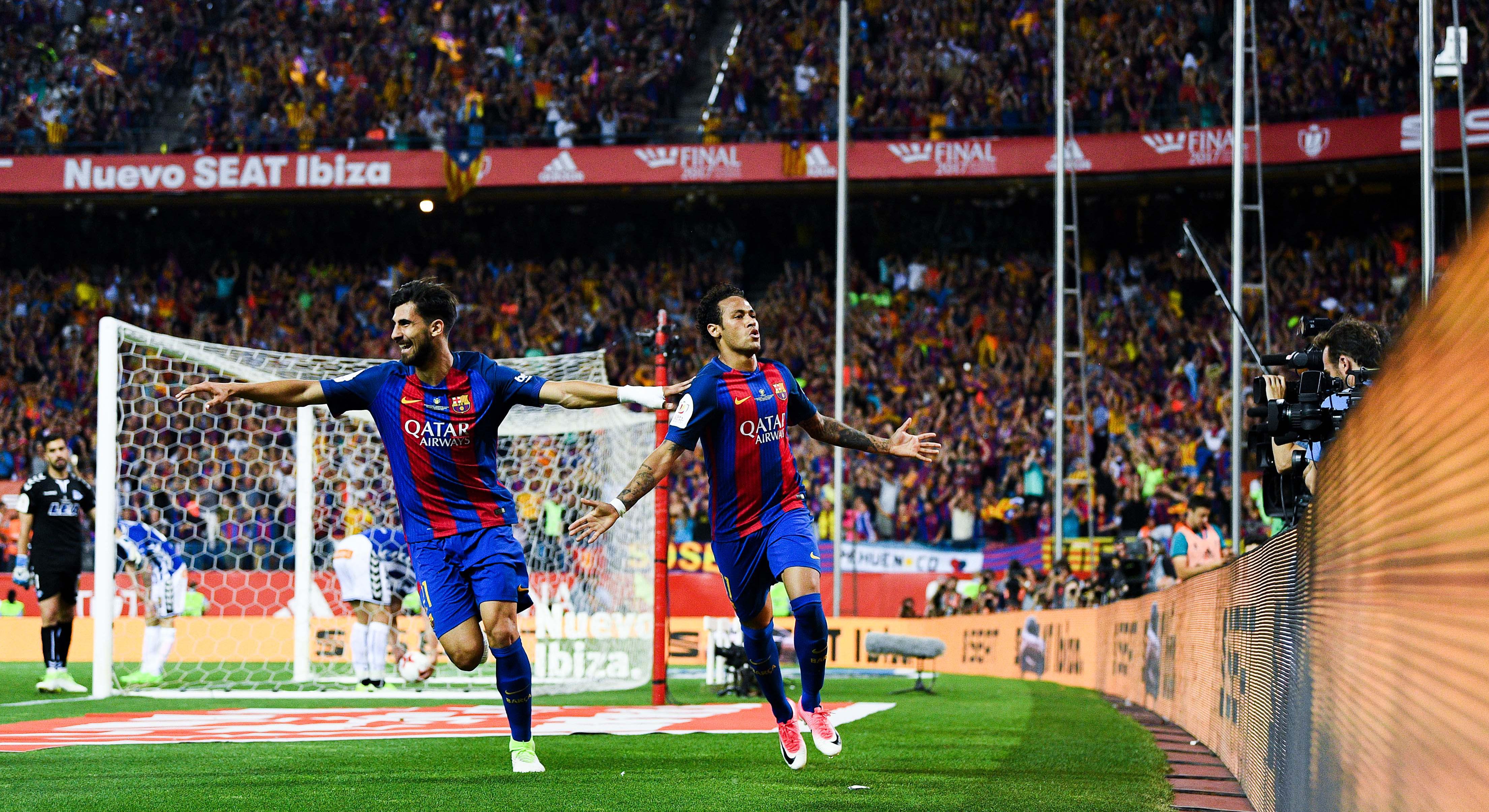 Neymar Barcelona Alaves Copa del Rey