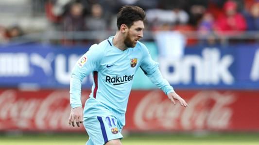 Lionel Messi Barcelona Eibar La Liga