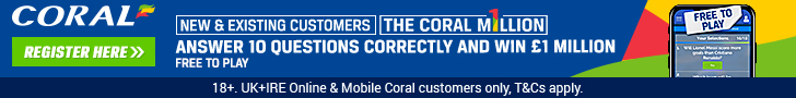 Coral Million footer
