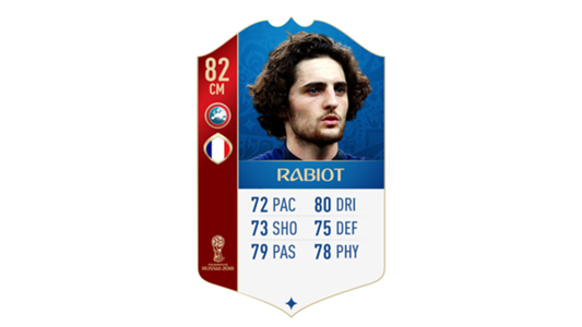 FIFA 18 World Cup France Rabiot