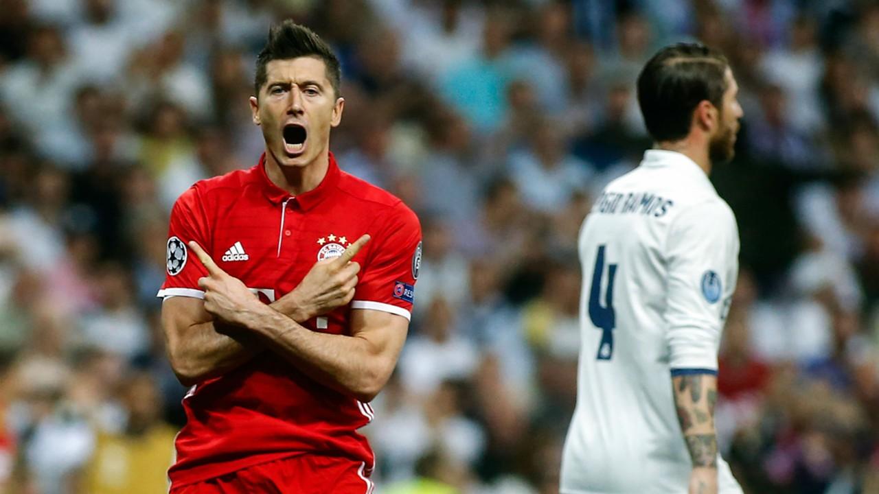Robert Lewandowski Bayern Munich Real Madrid