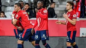 Anwar El-Ghazi Lille Strasbourg Ligue 1 28012018
