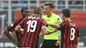 Leonardo Bonucci Milan Genoa Serie A