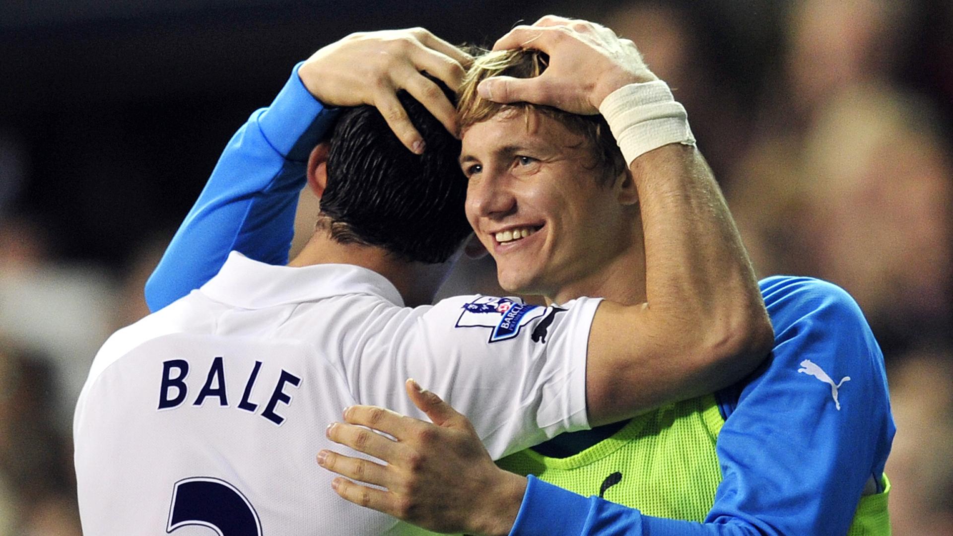 Gareth Bale, Roman Pavlyuchenko, Tottenham