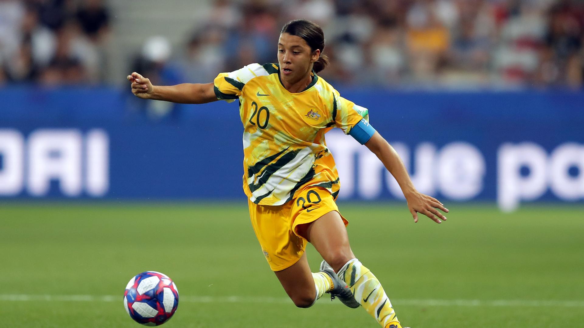 Sam Kerr hat-trick guides Australia past Jamaica