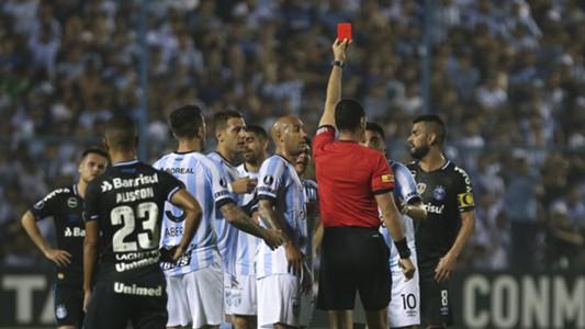 Wilmar Roldan Gervasio Nunez tarjeta roja Atletico Tucuman Gremio Libertadores 18092018