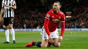 Zlatan Ibrahimovic, Manchester United - Newcastle United, Premier League 11182017