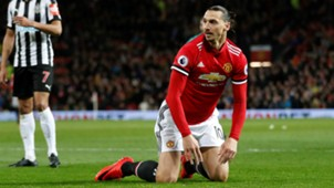 Zlatan Ibrahimovic, Manchester United - Newcastle United, Premier League 11182017