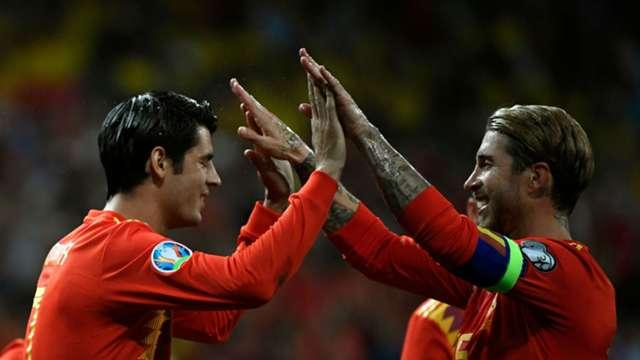 Image result for Morata grateful to Ramos
