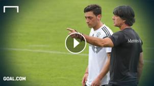 GFX Mesut Ozil Joachim Low