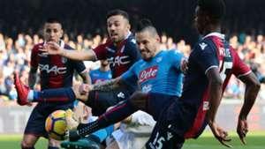 Hamsik Napoli Bologna Serie A