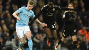 Kevin De Bruyne Manchester City Leicester City 10022018