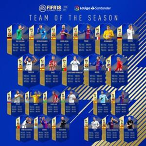 FIFA 18 La Liga Team of the Season