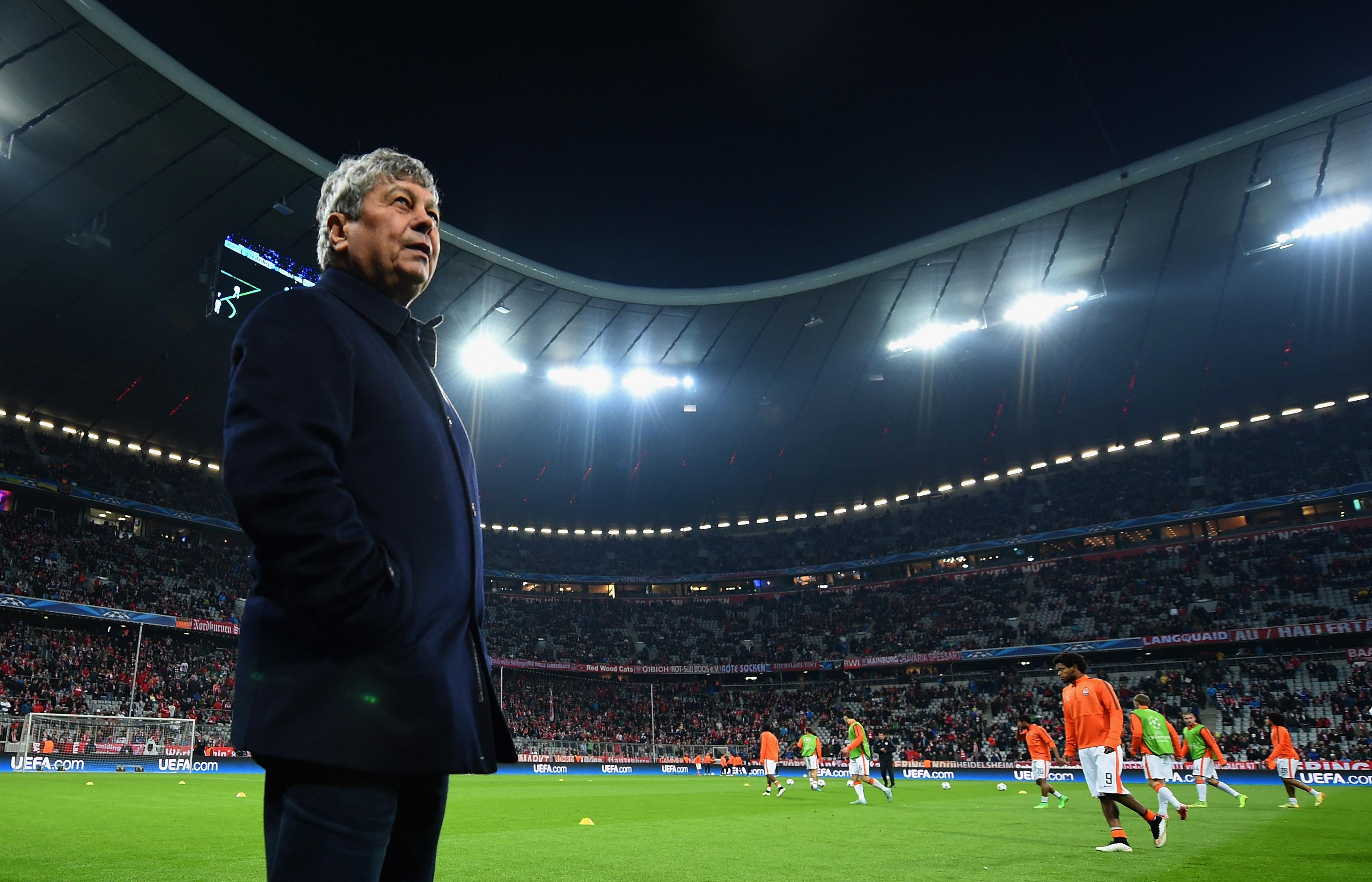 Mircea Lucescu Bayern Munchen Shakhtar Donetsk 03/11/15