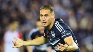 Jai Ingham Melbourne Victory v Western Sydney Wanderers A-League 12112016