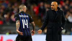 Spalletti Nainggolan injured Tottenham Inter