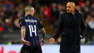 Spalletti Nainggolan injured Tottenham Inter