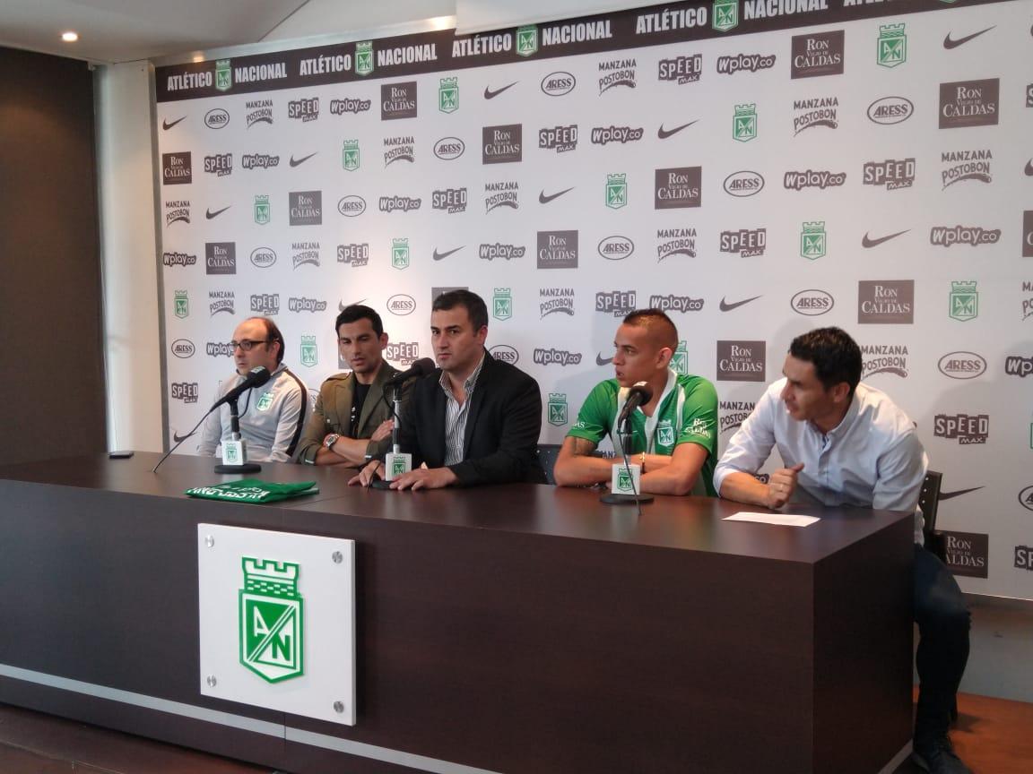 Refuerzos Atlético Nacional 2019 - Neider Moreno - Tino Costas