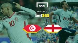 #Tunisia v England
