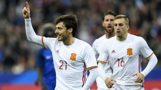 David Silva France Spain Friendly 28032017