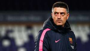 Francisco Pimienta Barcelona B head coach