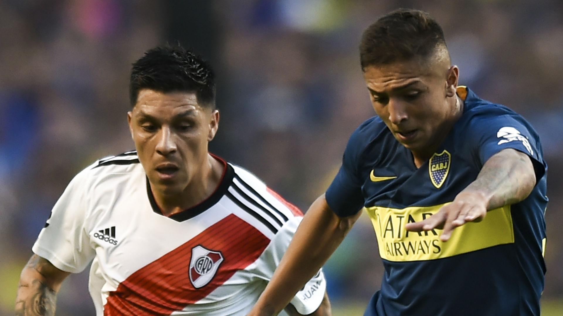Augustin Almendra Boca Enzo Perez River 2018