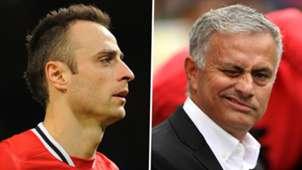 Dimitar Berbatov Jose Mourinho Man Utd