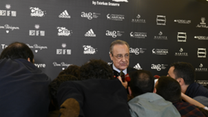 Florentino Perez during the event Cena Pirata by Esteban Granero