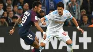 Neymar Sakai Marseille PSG Ligue 1 22102017