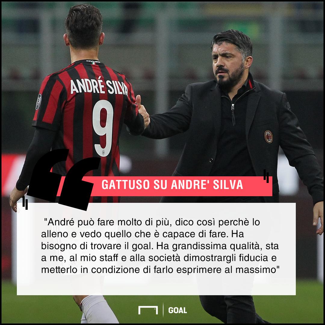 Gattuso su André Silva