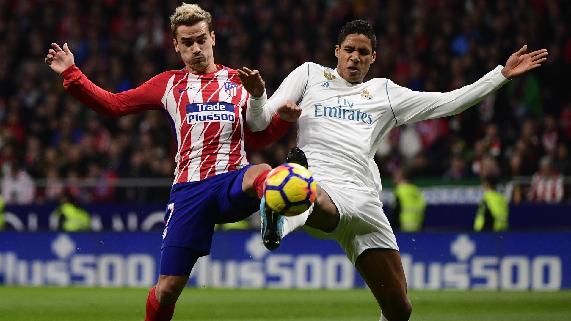 Griezmann Varane Atletico Madrid Real Madrid LaLiga