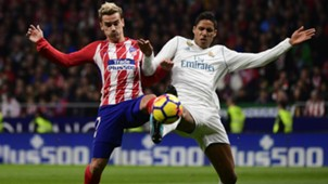 Griezmann Varane Atletico Madrid Real Madrid LaLiga