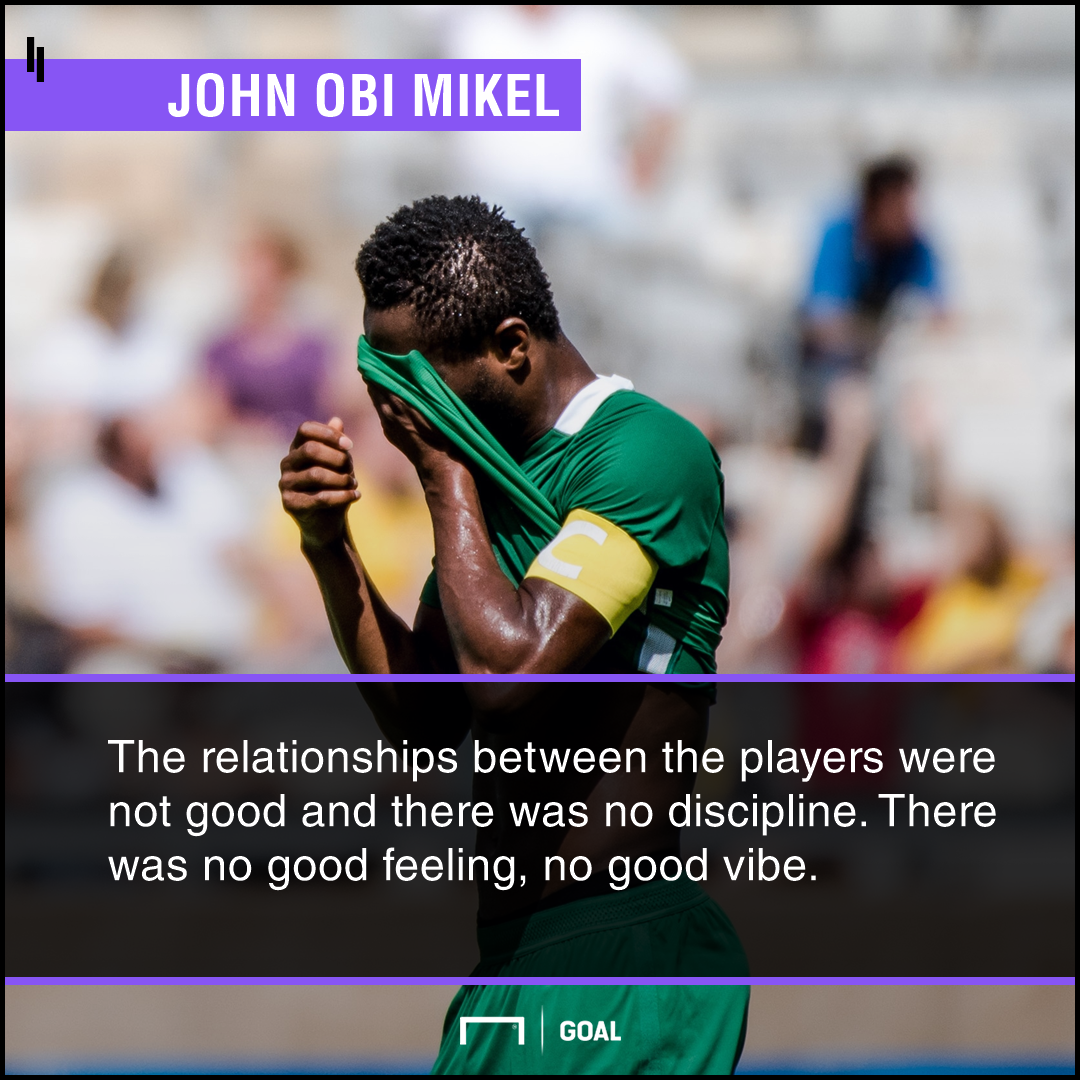 Nigeria Must Improve Before World Cup, Admits Mikel