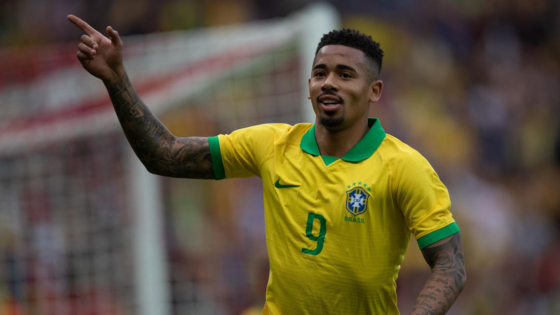 Gabriel Jesus Brazil Honduras Friendly 09062019