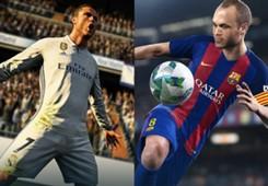 FIFA18 VS PES2018