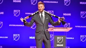 David Beckham Miami MLS 29012018