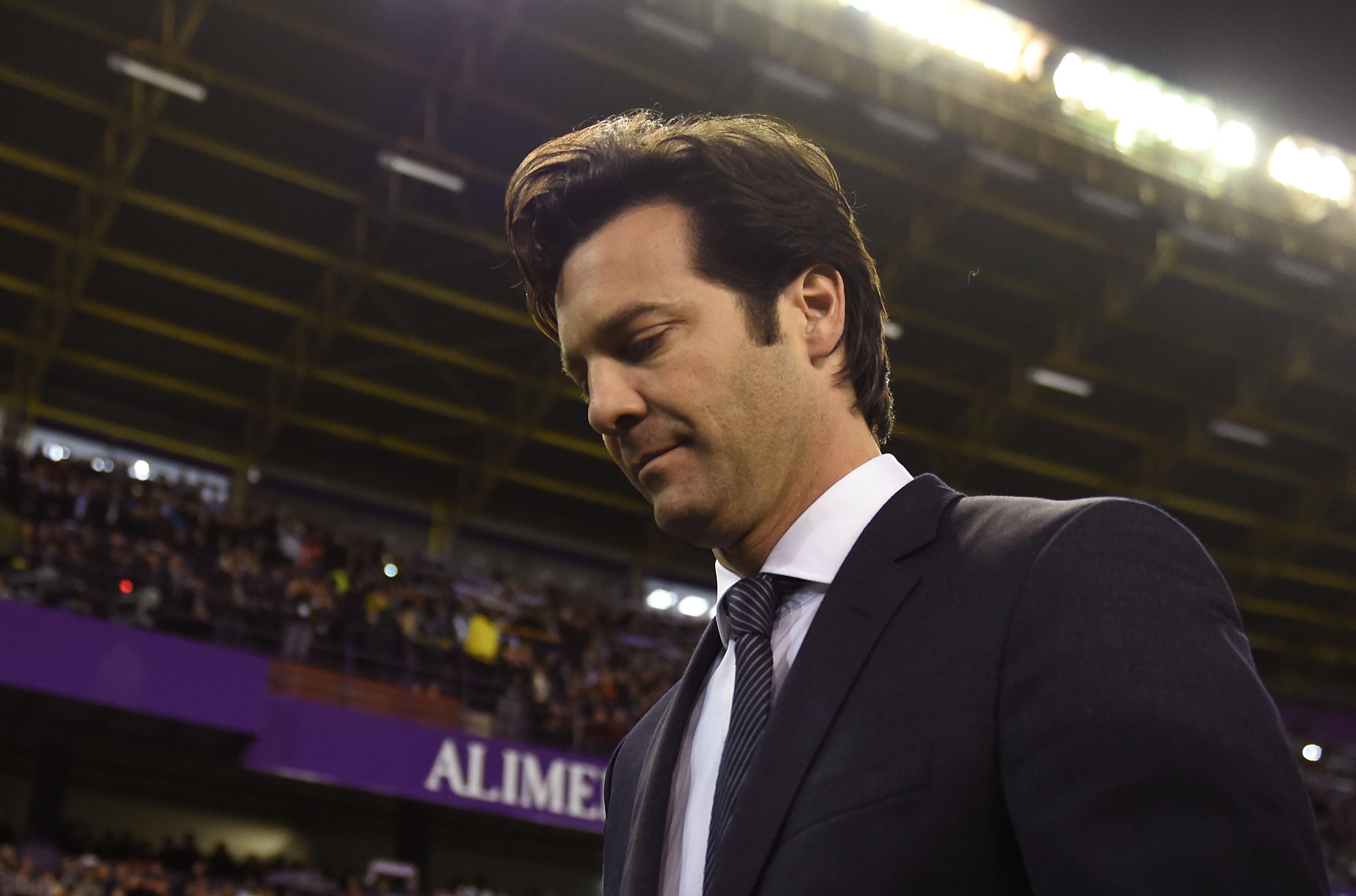 Santiago Solari Real Valladolid Real Madrid LaLiga