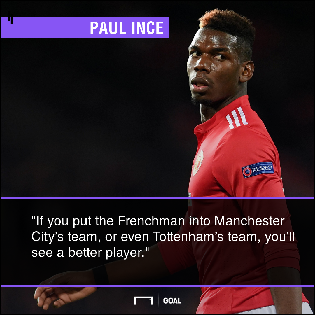 Paul Pogba better at City or Spurs Paul Ince